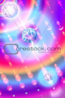 Bright iridescent background