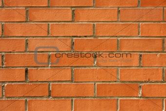 a blank brick wall