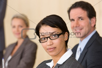 business team in boardroom