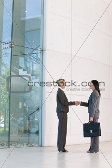 business handshakes