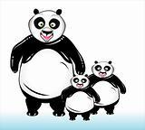 High detailed panda