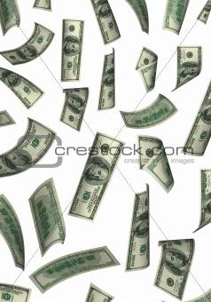 fall dollar background
