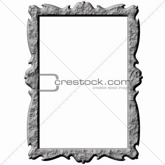 3D Stone Frame