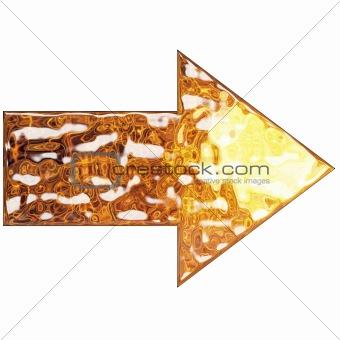 Liquid Metal Arrow