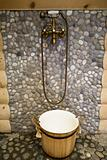 bronze shower
