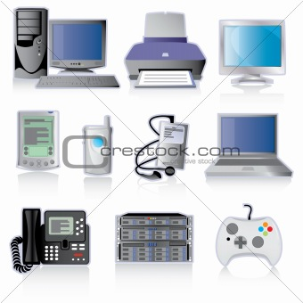 Technology Device Icons