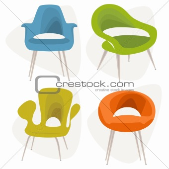 Modern Chair icons