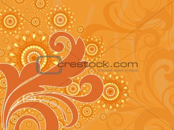 beautiful artistic design background