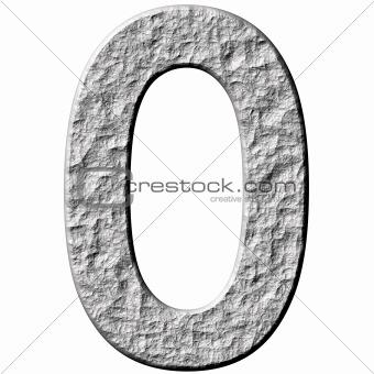 3D Stone Number Zero