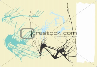 Abstract Expressionist Background #2