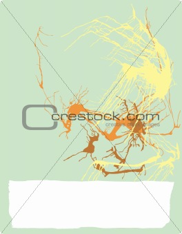 Abstract Expressionist Background #4