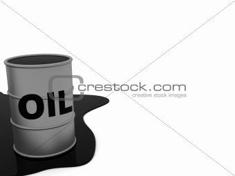 oil flank backround