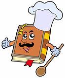 Cartoon recipe book