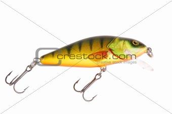 Fishing bait wobbler