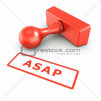 ASAP stamp