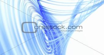 Blue Lorenz Attractor
