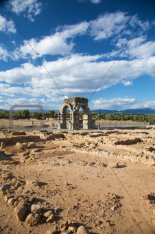 ancient roman city of caparra