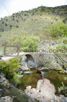 ancient rural bridge