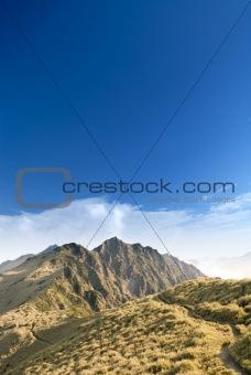 a way toward mountain