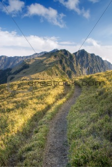 a way toward mountain