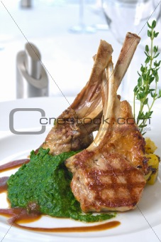 grilled cutlet