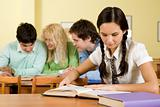 Reading students