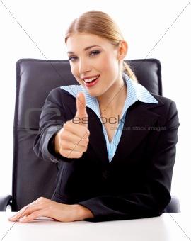 Blond Businesswoman