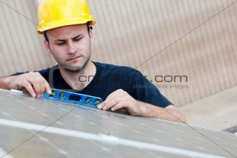Solar Panels - Checking Level
