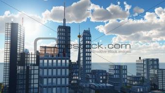 Urban panorama