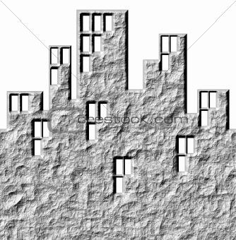 3D Stone Buildings