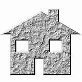 3D Stone House