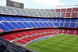 view of Nou Camp Stadium in Barcelona