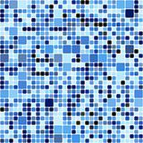 blue squares pattern