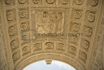 Arc de Triomphe du Carrousel. Details