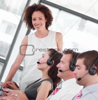 Business call centre