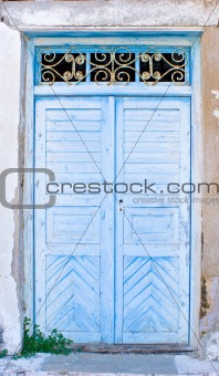 Old Wooden Doors.