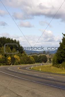 Car on Rural Highway