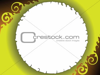 Abstract background in gold