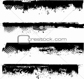 Grunge border details