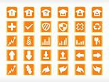 vector icons set, illustration