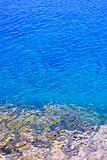 Blue water at shore of Georgian Bay