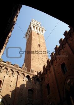 Torre del Mangia, Palazzo Pubblico, Siena