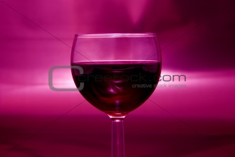 Burgundy night