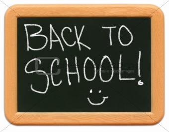 Child's Mini Chalkboard - Back to School