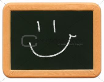 Child's Mini Chalkboard - Happy Face