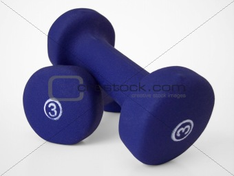 3lb free Hand Weights (path included)