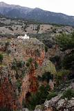Old church in mountains, gorge Aradena, Crete