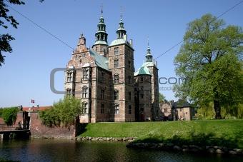 Castle Rosenborg in Copenhagen