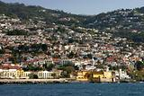 Funchal, view from the ocean