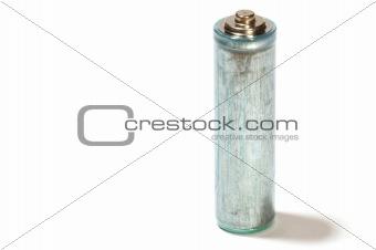 battery on white